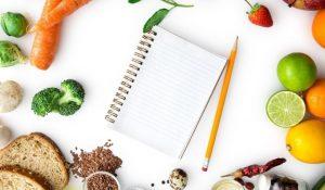 Carnet de notes sur l'alimentation