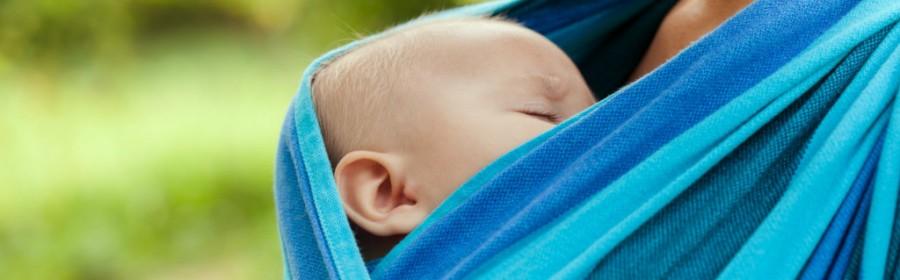 porte bebe en écharpe
